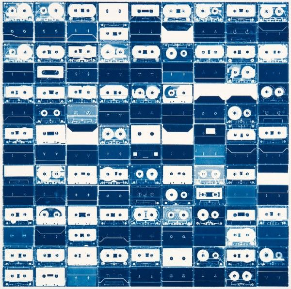Christian Marclay #cassette #art #cyanotype #blueMusic, Artists Christian, Tape Cyanotype, Cassette Tape, Tape Art, Based Artists, Art Installations, Blue Prints, Christian Marclay