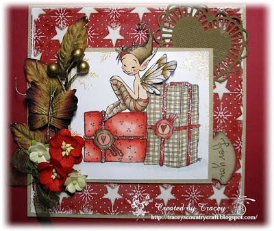 Tracey's Country Crafts: Emerald Faerie Challenge #38 Christmas