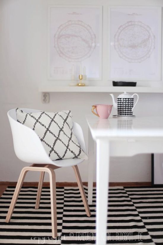 A beautiful post on chairs with gorgeous photos!  Hey There, Hay Chairs