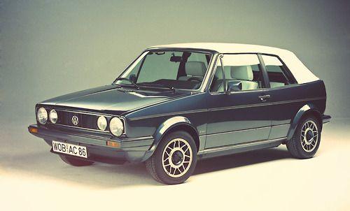 Volkswagen Golf Cabrio Quartet 1989