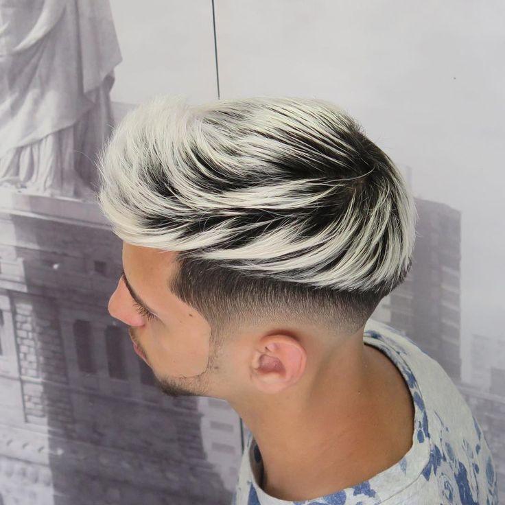 Tape up fade haircut