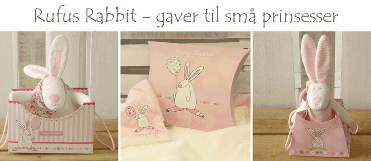Rufus Rabbit  - Nydelige gaver til små prinsesser