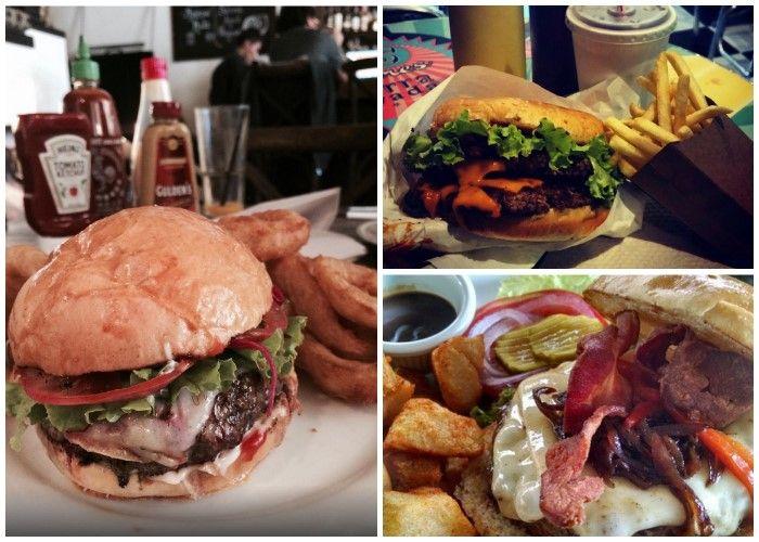 Aquí 7 de las mejores hamburguesas de la capital. Casi todas artesanales y no cuestan más de 30.000 ¿Cuál es su favorita?