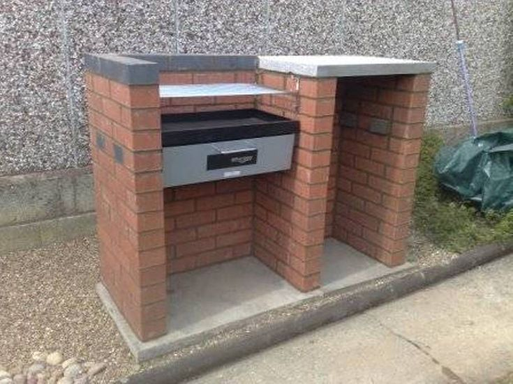 17 best images about brick barbecue grills on pinterest stainless steel grill design and barbecue - Building an outdoor brick barbecue ...