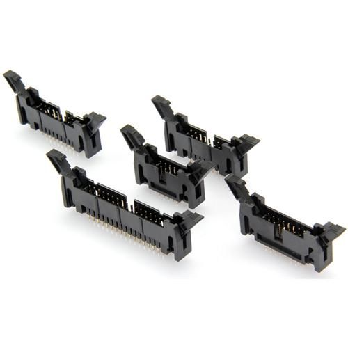 2.54mm+Pcb+Type+Locked+Header+Male+180°