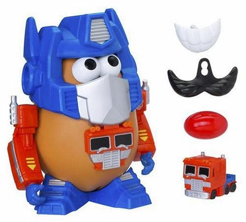#Mr. #Potato #Head #Optimash Prime is everyone's favorite spud in full disguise as the fearless and fiercely loyal leader of the Autotots, leading the war against the Decepticons. Basically, this is Hasbro's Optimus Prime version of its much-loved potato head character. - See more at: http://latestxmastoys.toysgaloreonline.com/mr-potato-head-optimash-prime-review/#sthash.IbYS92Ul.dpuf