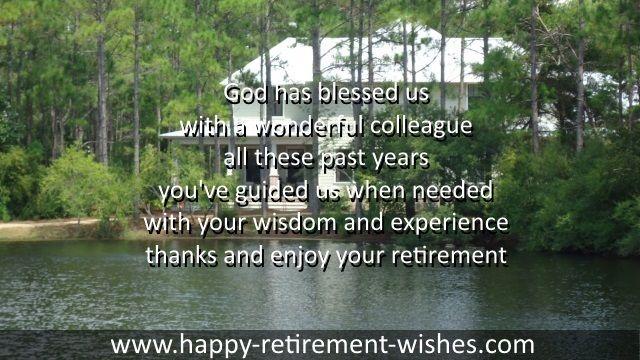 Retirement Sentiments Card Images