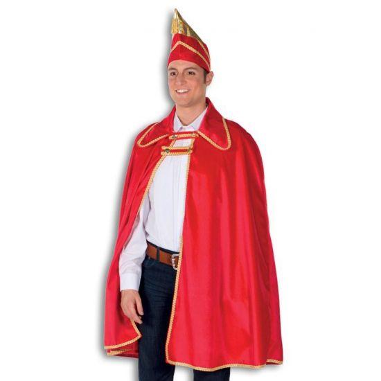 Carnavals kostuum prins Carnaval  Prins carnaval kostuum. Dit prins carnaval kostuum bestaat uit een een mooi rode lange cape met gouden versiersel inclusief de prinsenhoed. Dit kostuum is perfect te combineren met bijvoorbeeld een spijkerbroek en een wit overhemd. Het kostuum is alleen in ??n maat te verkrijgen.  EUR 69.95  Meer informatie
