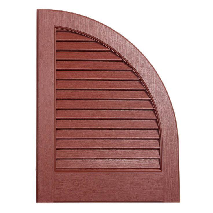 17 best exterior paint colors images on pinterest blinds - Severe weather exterior shutters lowes ...