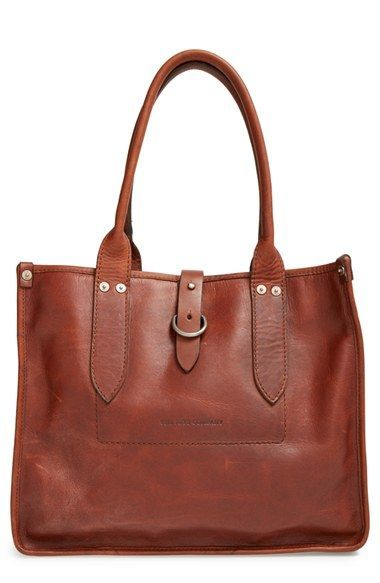 Frye 'Amy' Leather Shopper available at #Nordstrom