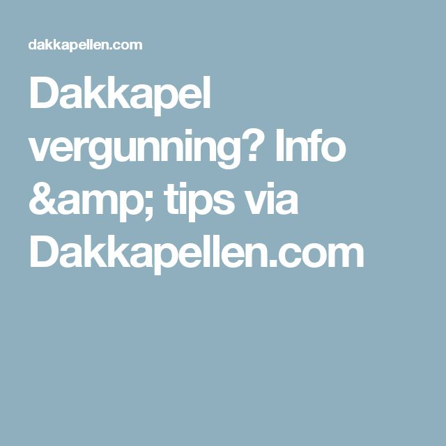 Dakkapel vergunning? Info & tips via Dakkapellen.com