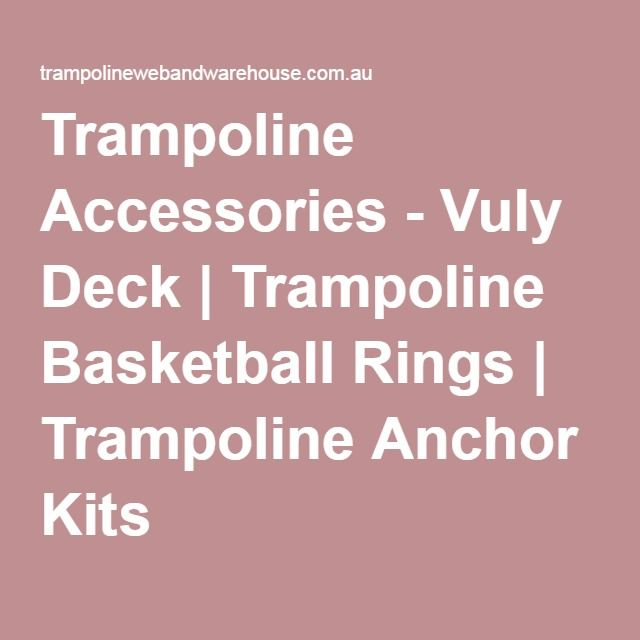 1000+ Ideas About Trampoline Accessories On Pinterest
