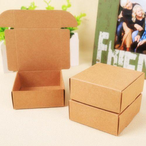 2015 Натуральный Крафт-бумага подарочная коробка для свадьбы, день рождения и…