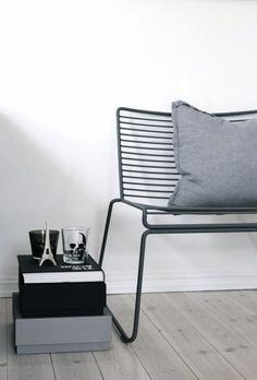 #HAY #Hee #lounge #chair #zwart