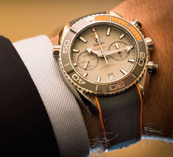 TIME+TIDE: ADVENT CALENDAR 2016 - December 14 – The Omega Seamaster Planet Ocean Chronograph