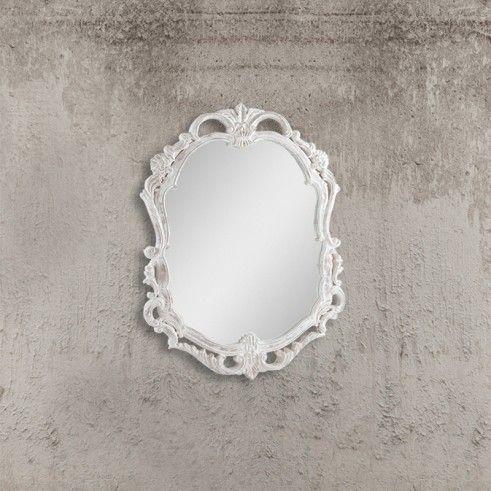 #shabby #style #vintage #stile #vetro #progetti #interior #design #casa #arredo #interni #professionisti #legno #tendenze #2017 #madeinitaly #tavoli #sedie #total #look #lodon #industrial #provenzali #mood #emozionale #artigianale #SPECCHIO #BIANCO #MIRROR #WHITE