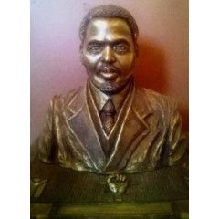 Awesome, Life Sized Bust of Steve Biko