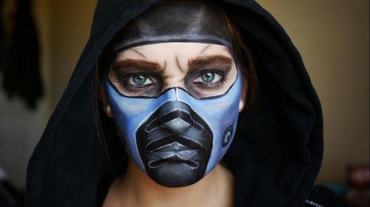 maquillaje facil de hombre para halloween - Buscar con Google