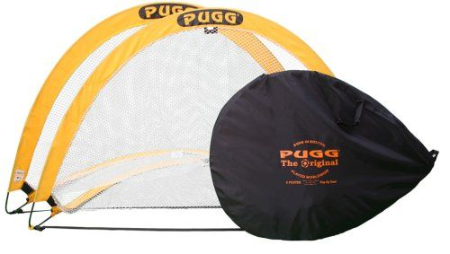PUGG 6 Footer Portable Training Goal Boxed Set (Two Goals & Bag) - http://weloveourpugs.net/?product=pugg-6-footer-portable-training-goal-boxed-set-two-goals-bag