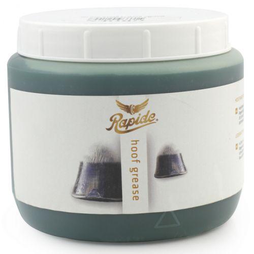 Rapide's Hoefsmeer is een hoefvet ontwikkeld op basis van laurier, vaseline en natuurlijke en minerale oliën. Het bevorderd de optimale conditie van de hoeven. Is goed te gebruiken in combinatie met hoefolie en hoefteer.