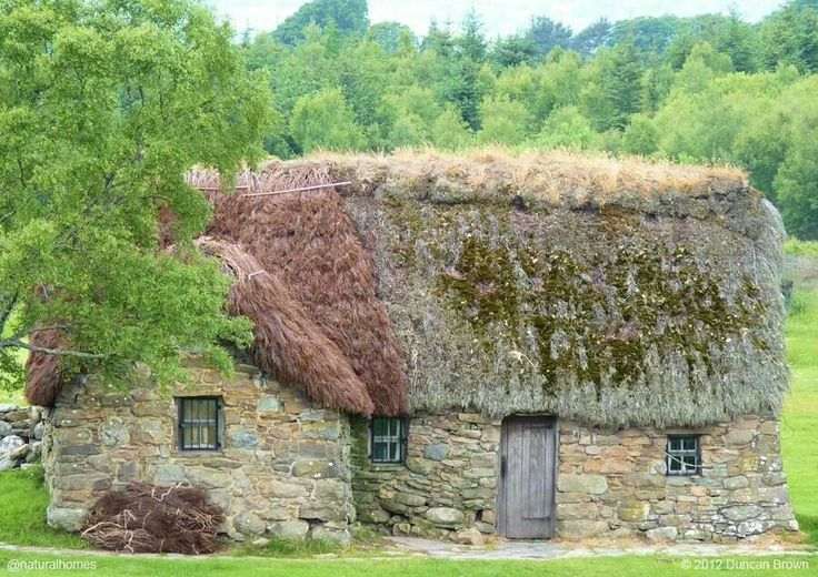 Scottish Heather thatched cottage Thatched Roof Cottages