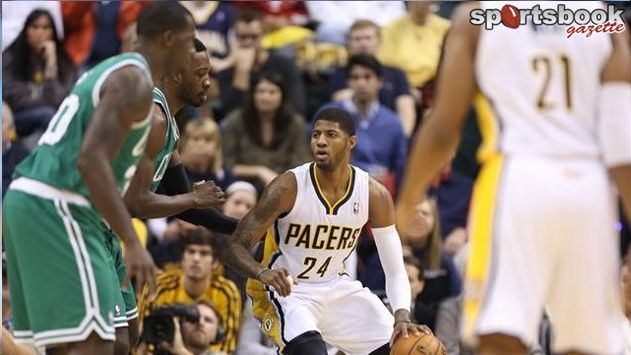 Pacers too good for Celtics Paul George scored 24 points and guard Lance Stephenson had a triple-double as the Indiana Pacers defeated the Boston Celtics 106-79 to improve the best record in the Eastern Conference.
