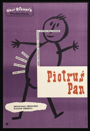 14 Hilariously Inaccurate Foreign Posters for American Films / Peter Pan (Lithuania)