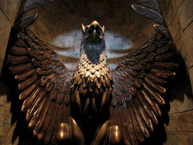 "The entrance to Dumbledore's office is literally a ""griffin door""! Harry Potter Facts that will blow your mind."