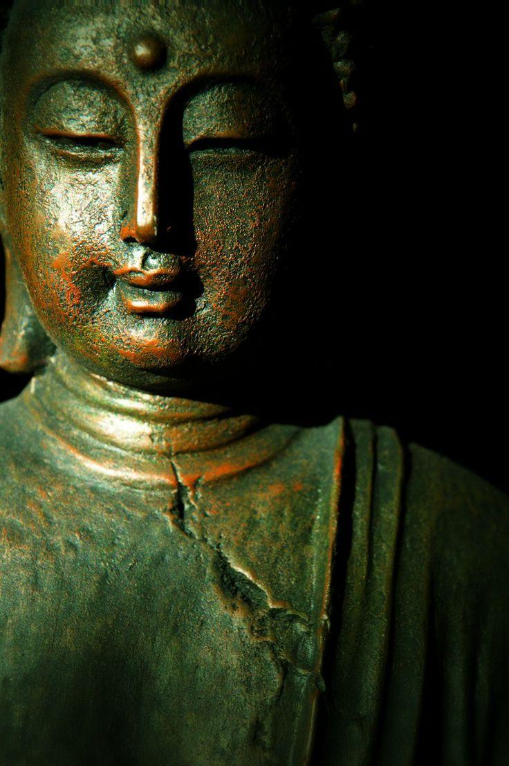 Buddha verdigris