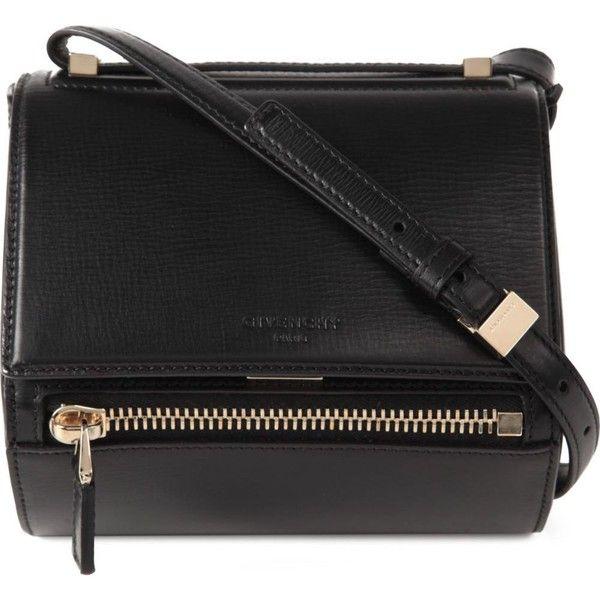GIVENCHY Pandora leather box mini satchel found on Polyvore
