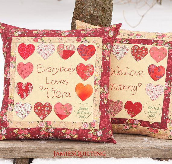 Love House Personalized Pillow Cover For My by Prettybox4her, $75.00