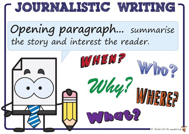 tips for writing a newspaper article ks2