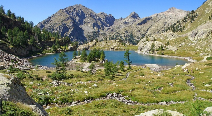 SIGHTS. Parc National Du Mercantour. The Mercantour National Park is Provence at its most majestic. Europe's highest mountain pass, Col de Restefond la Bonette (2802m/9190ft), strides through the Valle de l'Ubaye, the park's most northern and wildest area. Come winter, the Ubaye a