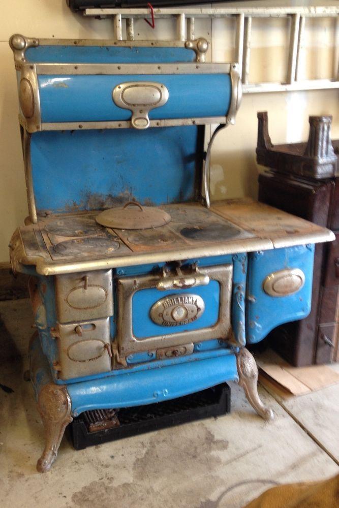 Wood Burning Cook Stove Cribben Amp Sexton Company Vintage