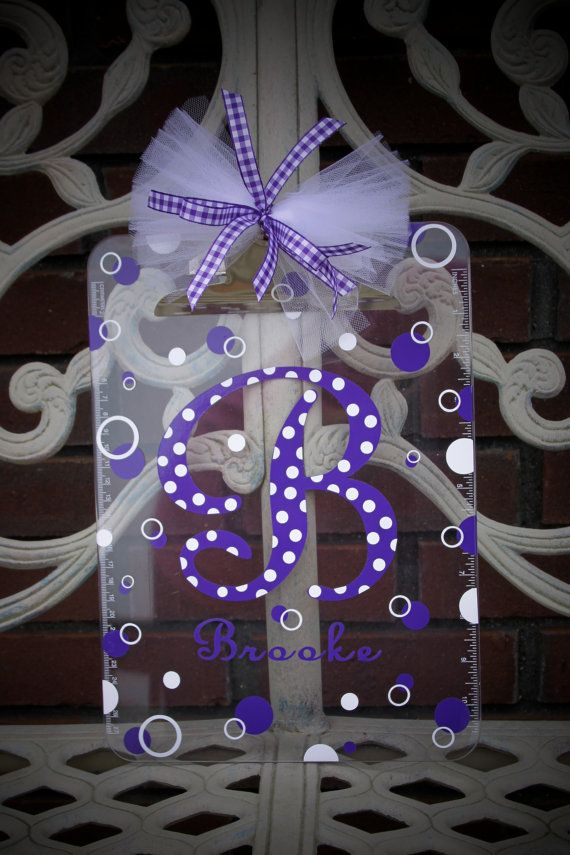 Personalized Acrylic Clipboard Great Appreciation by LittleLad