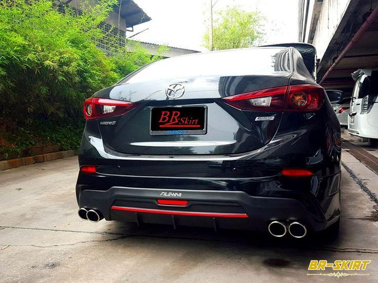 ชุดแต่งสเกิร์ต-สปอยเลอร์ Mazda3 2015-2016, ลื้นยาง samurai, ของแต่งอื่นๆ