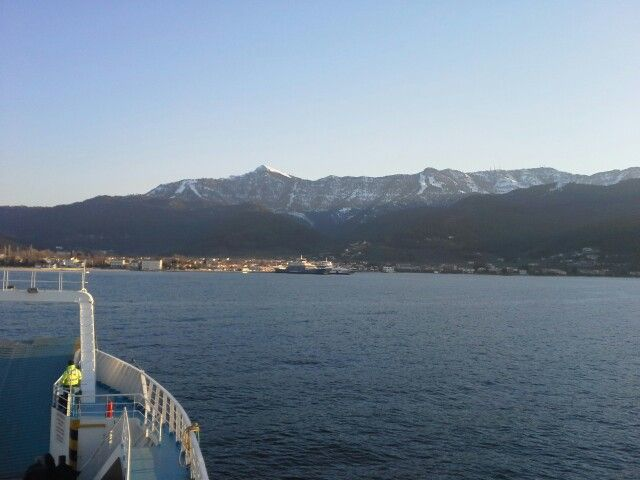 Snow in March in Thassos