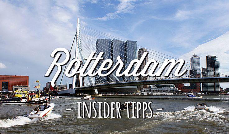 Sehenswürdigkeiten in Rotterdam und echte Geheimtipps verrät euch Insider Simone, die seit15 Jahren in der holländischen Stadt lebt.