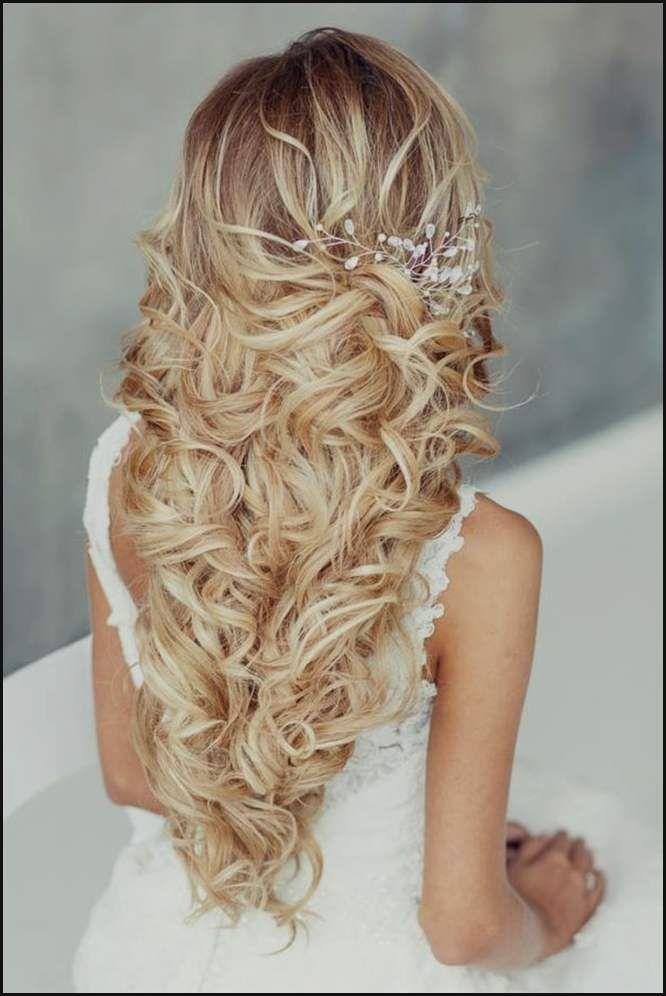 Brautfrisuren Lange Haare Halb Hochgesteckt Frisuren Damenfrisuren