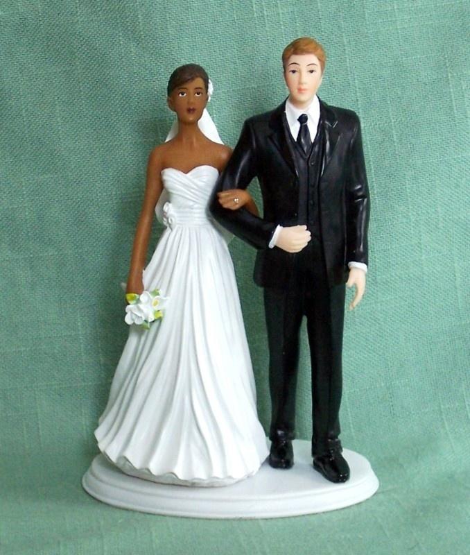 Interracial Wedding Cake Tops 97