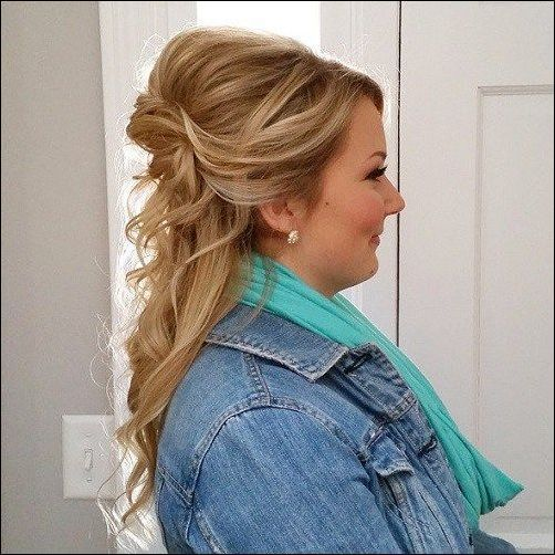 wedding hairstyles for round faces 50
