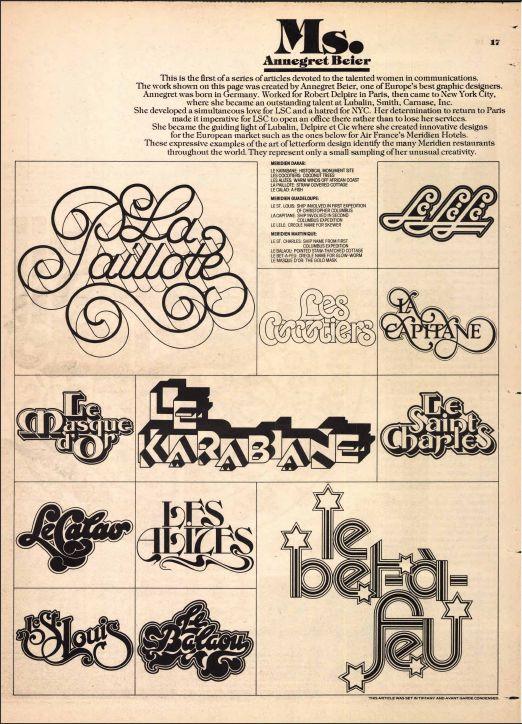 Idée typographie pour le project