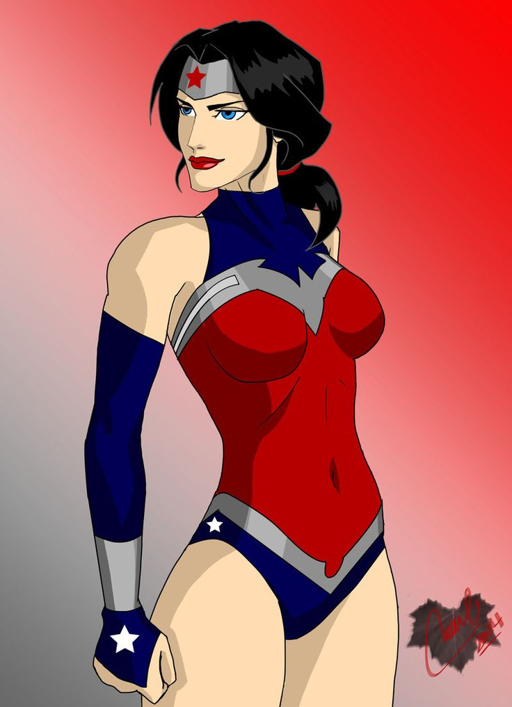 Justice League anime porno