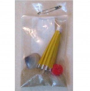 Beach Bag Swap or Add stuff from your own environment .. i.e. desert: sand, mini lizard or cactus