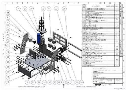 projeto cnc 2 em 1 fresadora e impressora 3d