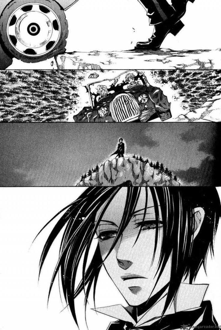 Kuroshitsuji manga: mostly I love the how the artist can draw expressions: amazing.