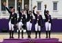 Carl Hester, Laura Bechtolsheimer and Charolette Dujardin. Best of Equestrian - London 2012 Olympics