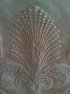 Pearl Skirt Panel Detail