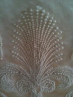 Pearl Skirt Panel Detail • This is striking