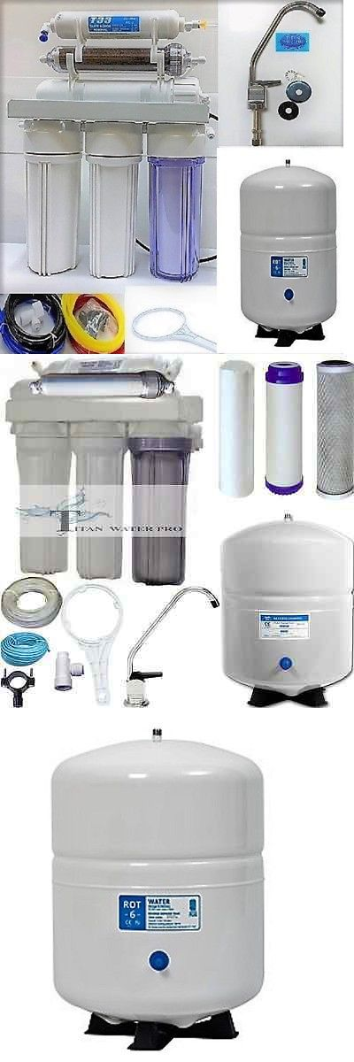Cleaning and Maintenance 148983: Dual Use Reverse Osmosis Water Filter Systems Di Ro 150 Gpd Large Ro Tank 6 Gal -> BUY IT NOW ONLY: $134.1 on eBay!